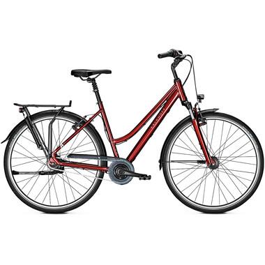 Vélo de Ville KALKHOFF AGATTU 8R TRAPEZ Rouge 2020
